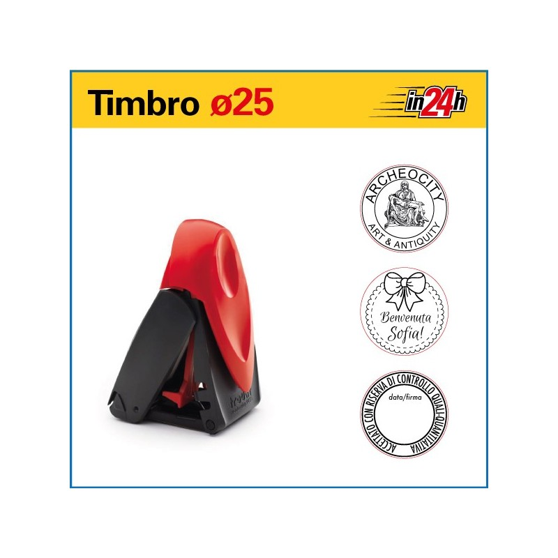 Timbro Tascabile Trodat Printy 9425 - ø mm 25