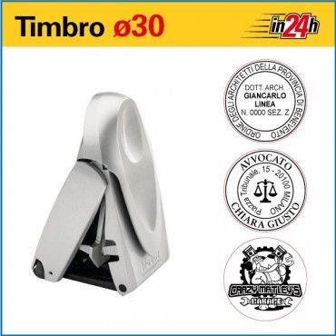 Timbro Tascabile Trodat Printy 9430 - ø mm 30