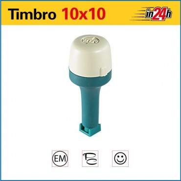 Timbro Manuale - mm 10x10