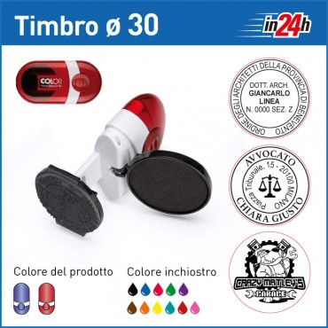 Timbro Tascabile Colop Pocket Stamp R30