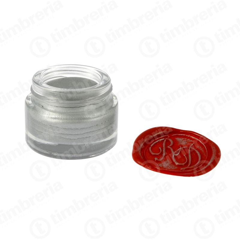 Crema argento per ceralacca con sigillo