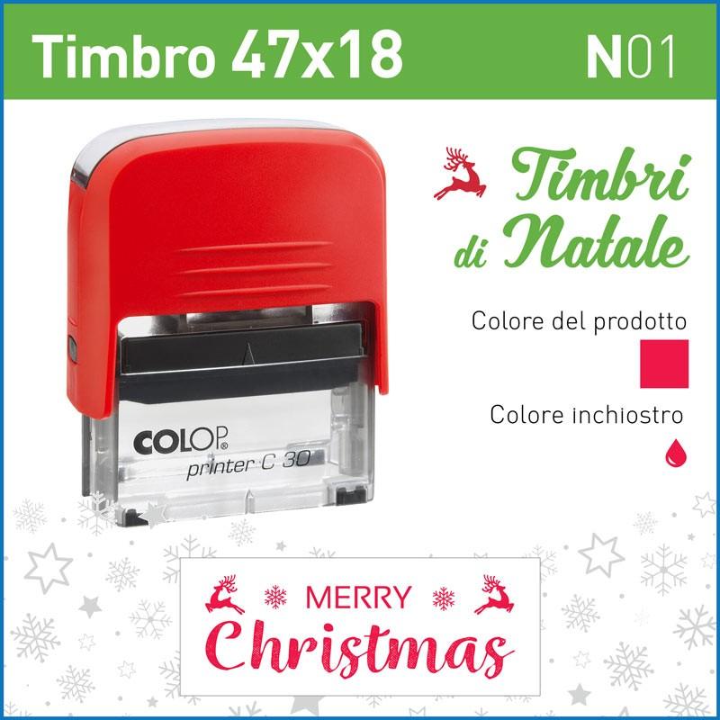Timbro Merry Christmas