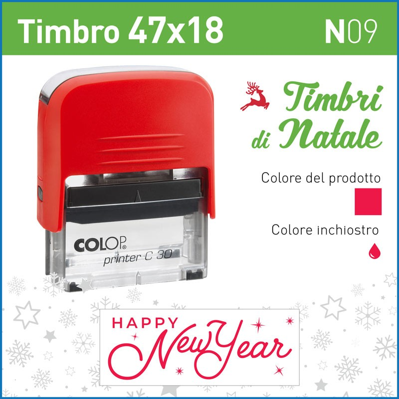 Timbro Happy New Year