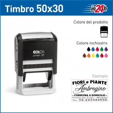 Timbro Colop Printer 35 - mm 50x30
