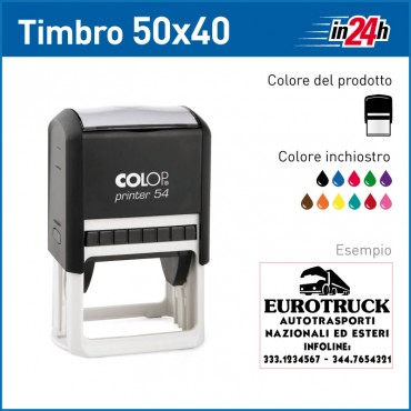 Timbro Colop Printer 54 - mm 50x40