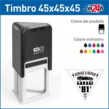 Timbro Colop Printer T45 - mm 45x45x45