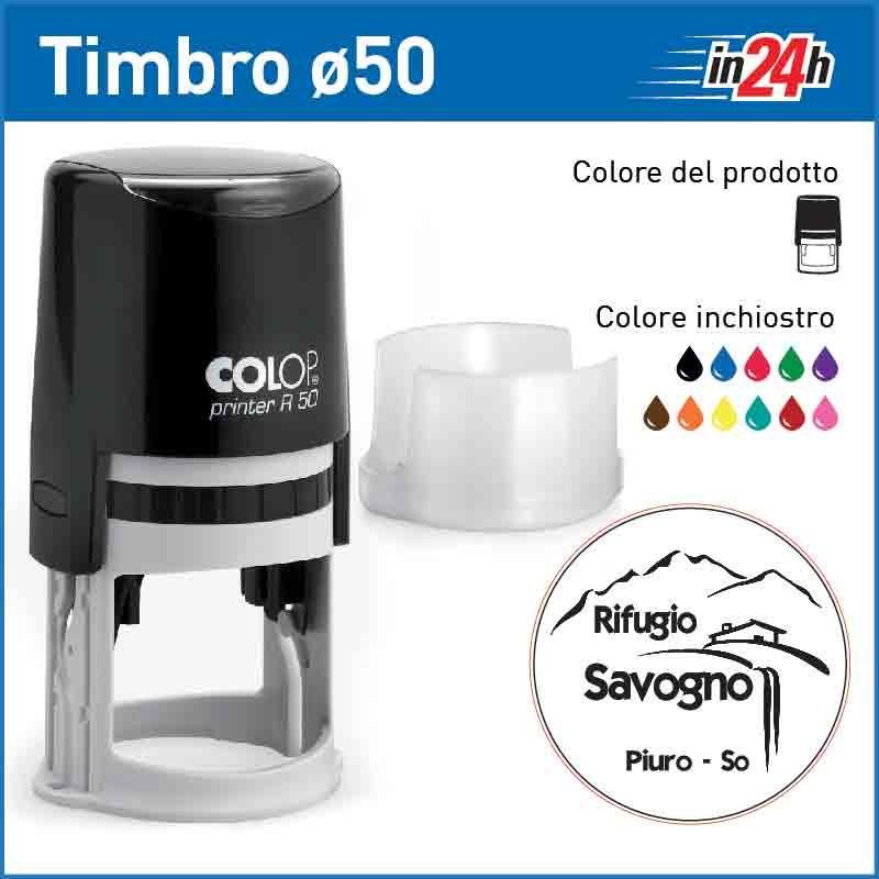 Timbro Colop Printer R50 - ø mm 50