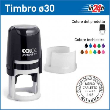 Timbro Colop Printer R30 - ø mm 30