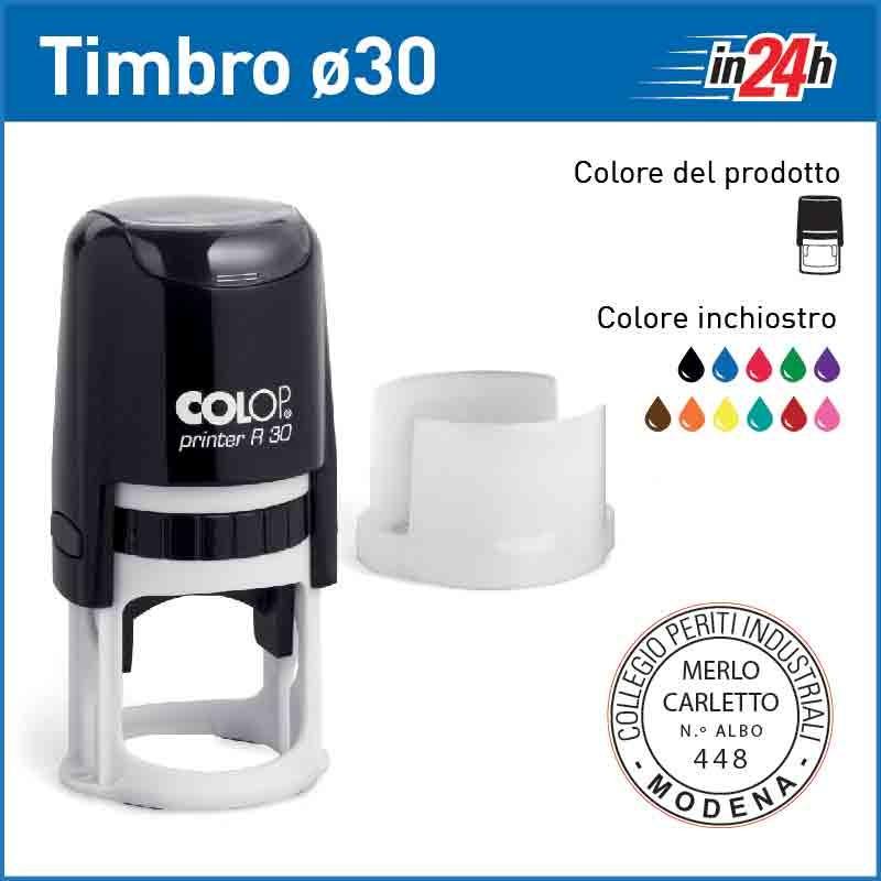 Timbro Colop Printer R30 - ø mm 30
