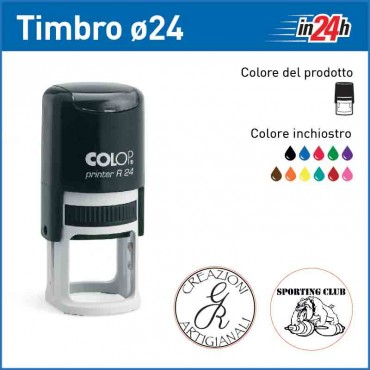 Timbro Colop Printer R24 - ø mm 24
