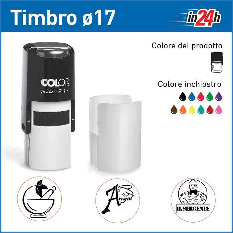Timbro Colop Printer R17 - ø mm 17