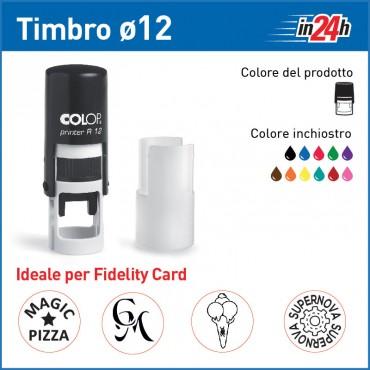 Timbro Colop Printer R12 - ø mm 12