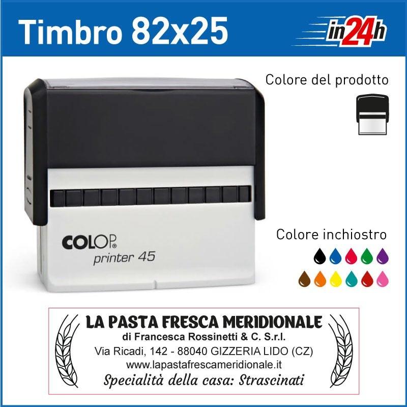 Timbro Colop Printer 45 - mm 82x25