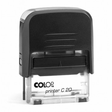 4 righe COLOP Printer 45 per ordine e riscontro Violet Timbro di inchiostro personalizzato 82 x 25 mm