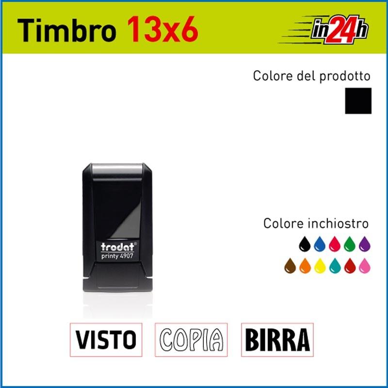 Timbro Trodat Printy 4907 - mm 13x6