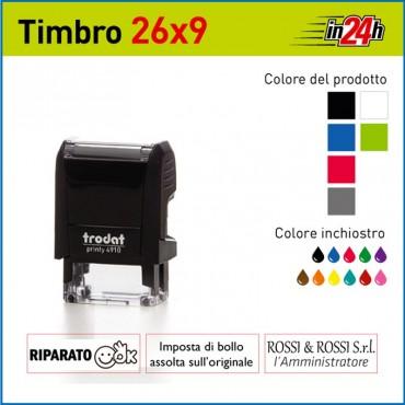 Timbro Trodat Printy 4910 - mm 29x6