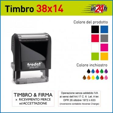 Timbro Trodat Printy 4911 - mm 38x14