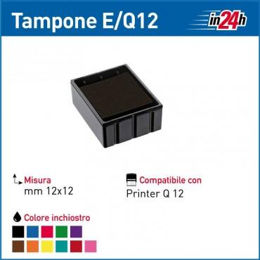 Tampone Colop E/Q12 mm 12x12