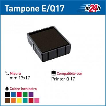 Tampone Colop E/Q17 mm 17x17