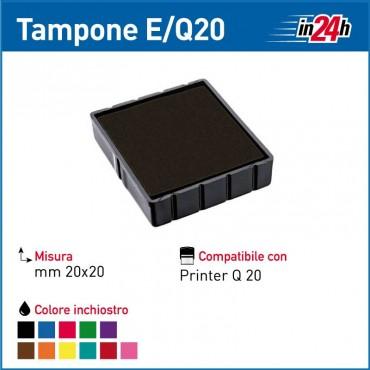 Tampone Colop E/Q20 mm 20x20