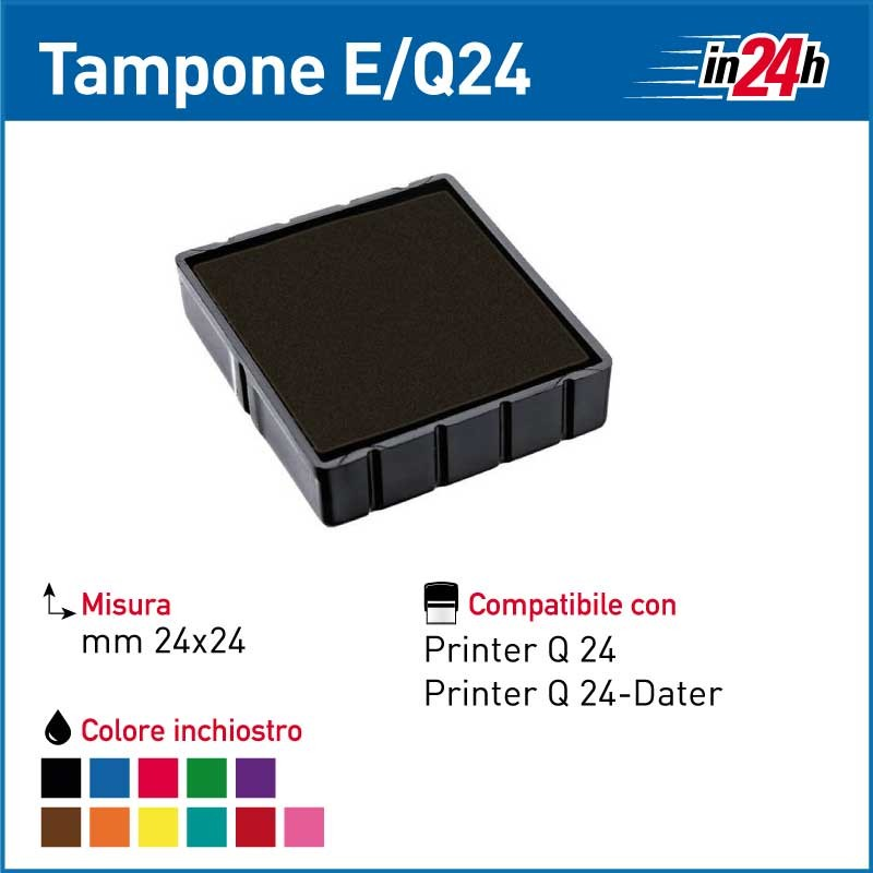Tampone Colop E/Q24 mm 24x24