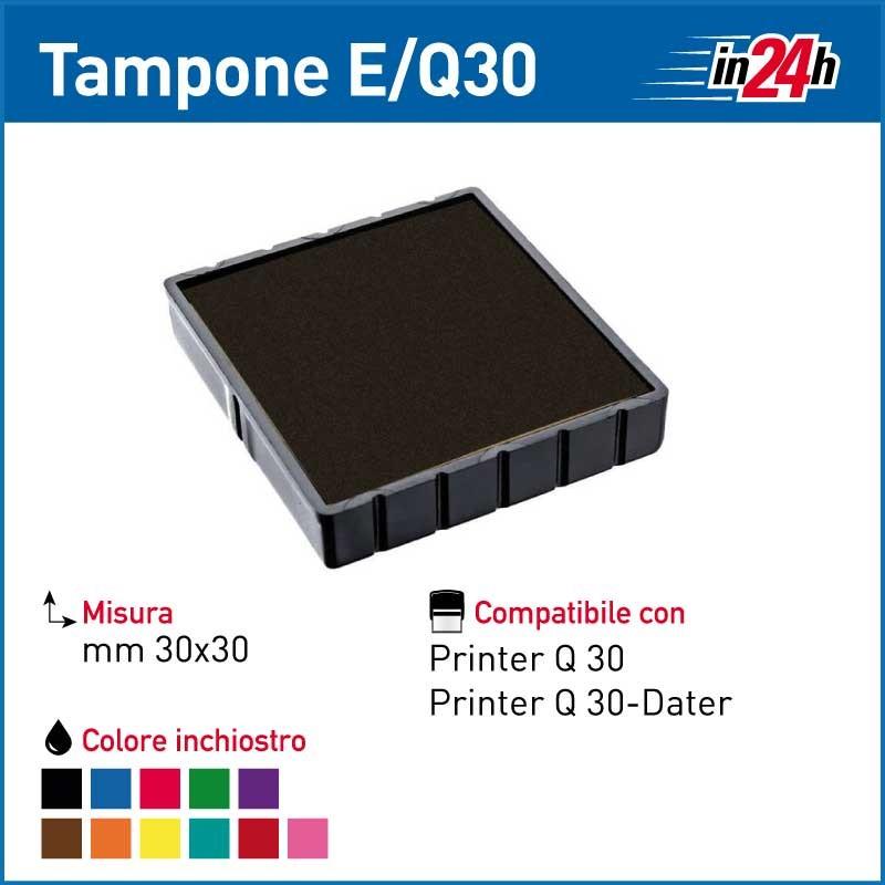 Tampone Colop E/Q30 mm 30x30
