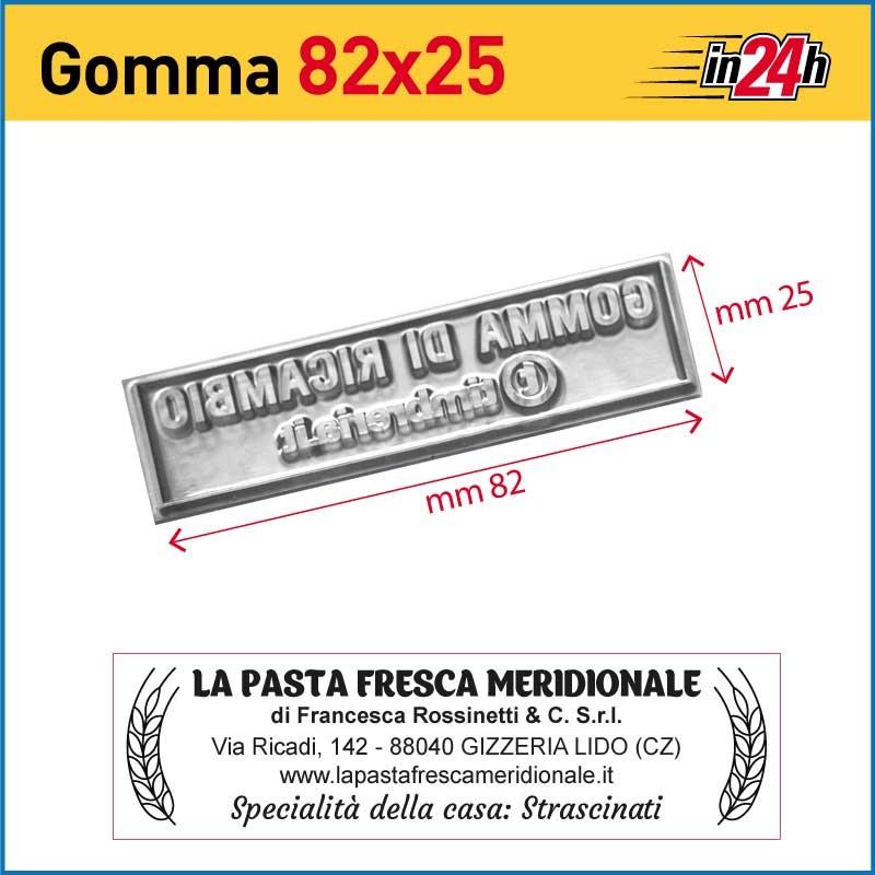 Gomma di Ricambio mm 82x25