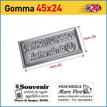 Gomma di Ricambio mm 45x24