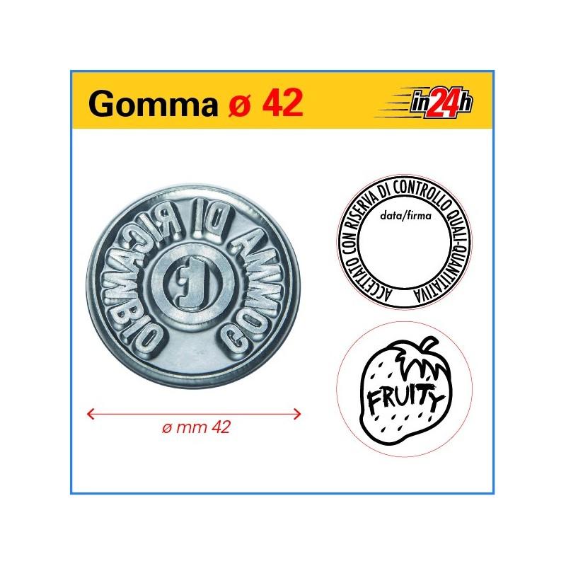 Gomma di Ricambio ø mm 42