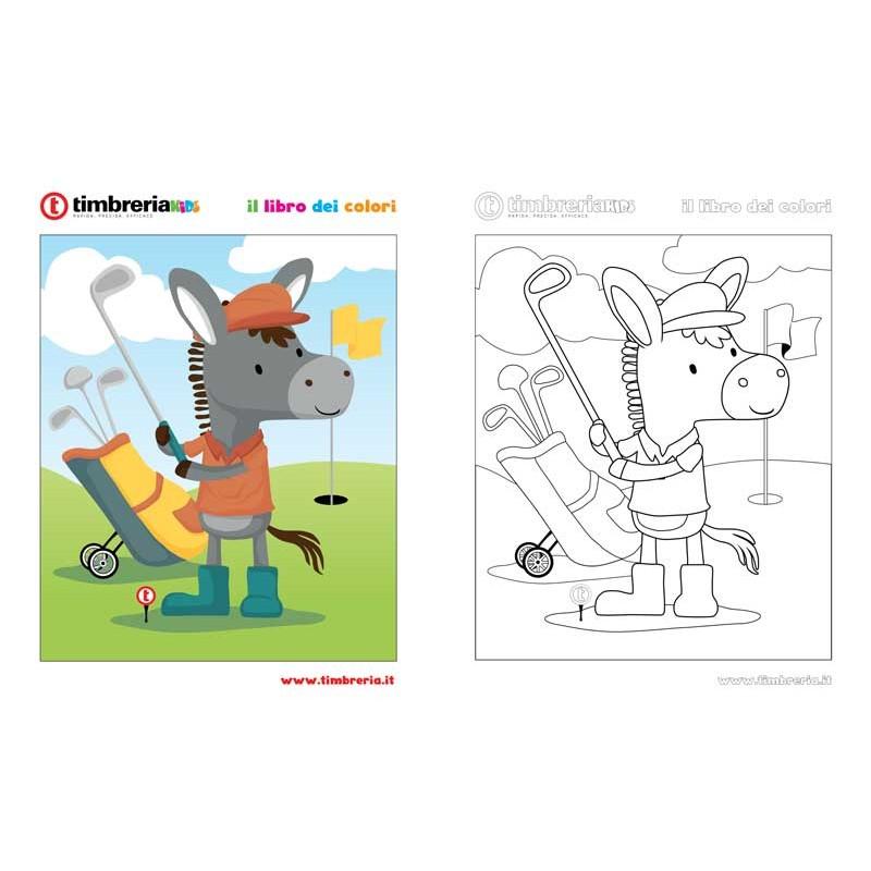 disegno da colorare golf TimbreriaKids 11