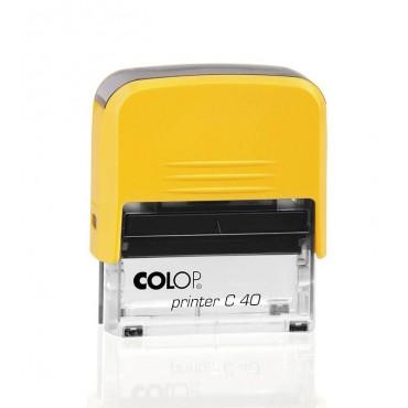 Timbro Colop Antibatterico Microban 50 - mm 69x30