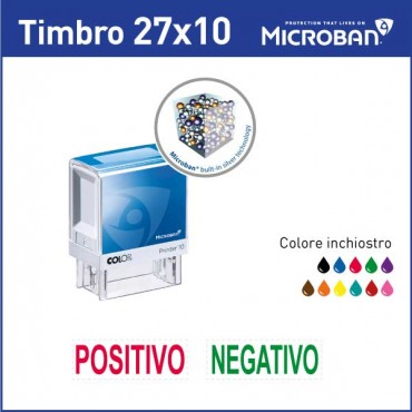 Colop Microban 10 - mm 27x10