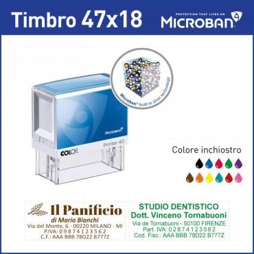 Colop Microban 30 - mm 47x18