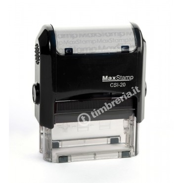 Timbro MaxStamp CSI-20 mm 47x18