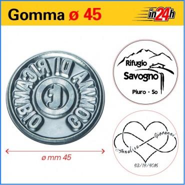 Gomma di Ricambio ø mm 45