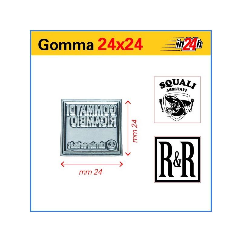 Gomma di Ricambio mm 24x24
