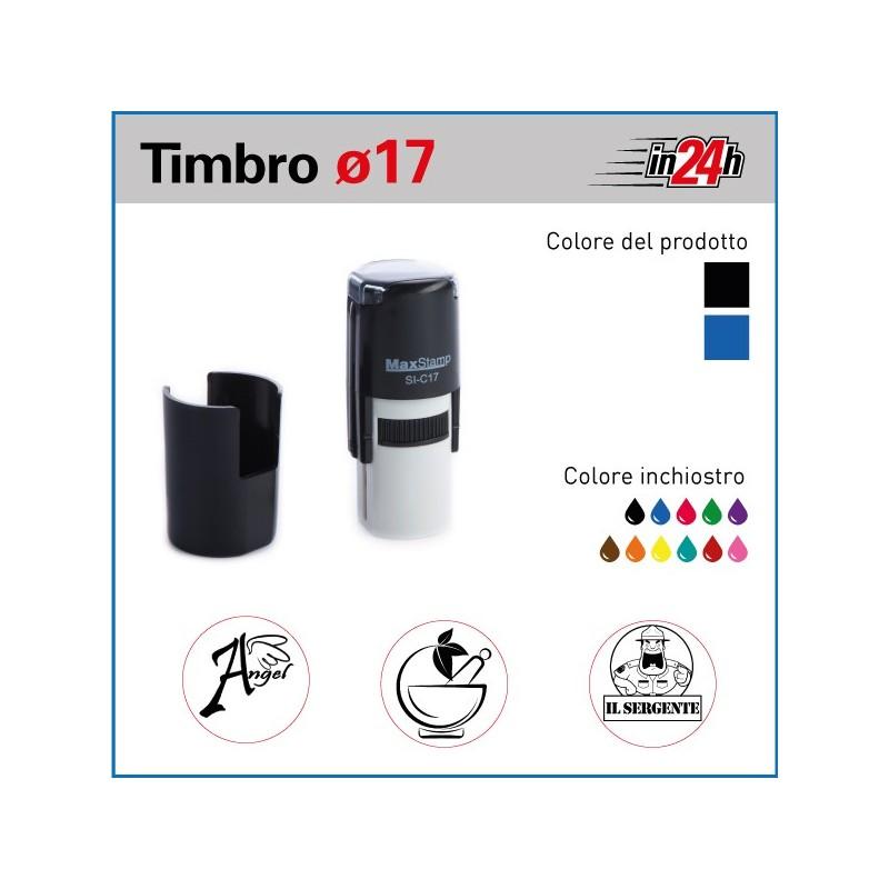Timbro Maxstamp C17 - ø mm 17