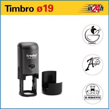 Timbro Trodat Printy 46019 - ø mm 19