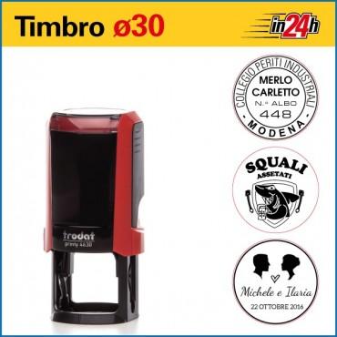 Timbro Trodat Printy 4630 - ø mm 30