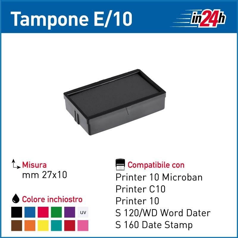 Tampone Colop E/10 mm 27x10