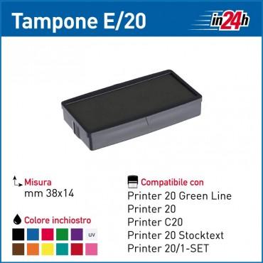 Tampone Colop E/20 mm 38x14