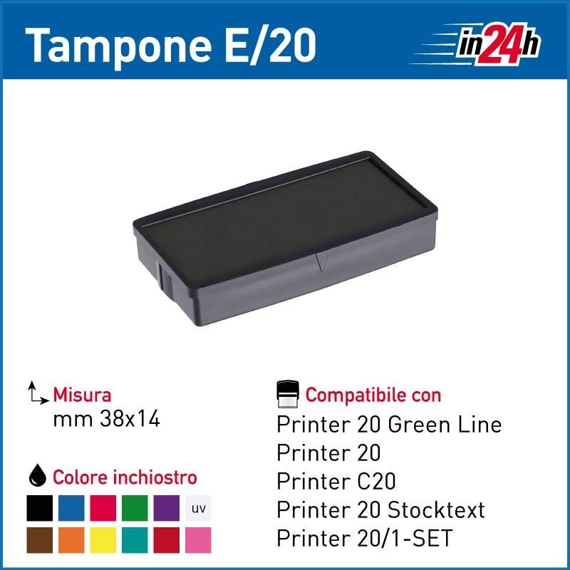 Blu colore COLOP E//Q43 Cuscinetto di ricambio