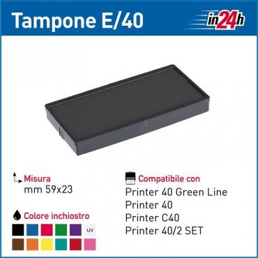 Tampone Colop E/40 mm 59x23