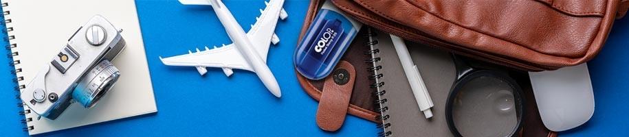 Timbri tascabili da viaggio personalizzato online