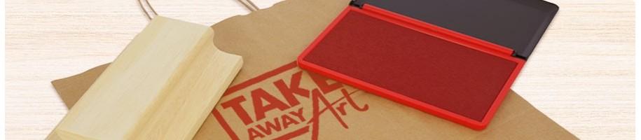 Timbri XXL di grande dimensioni per buste e sacchetti in carta