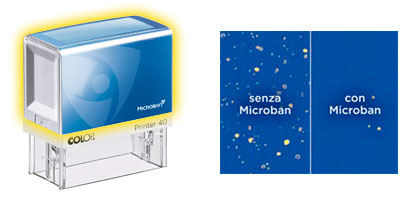 timbro antibatterico microban